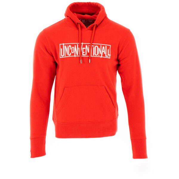 Unconventionall Womens Statement Red Hoodie