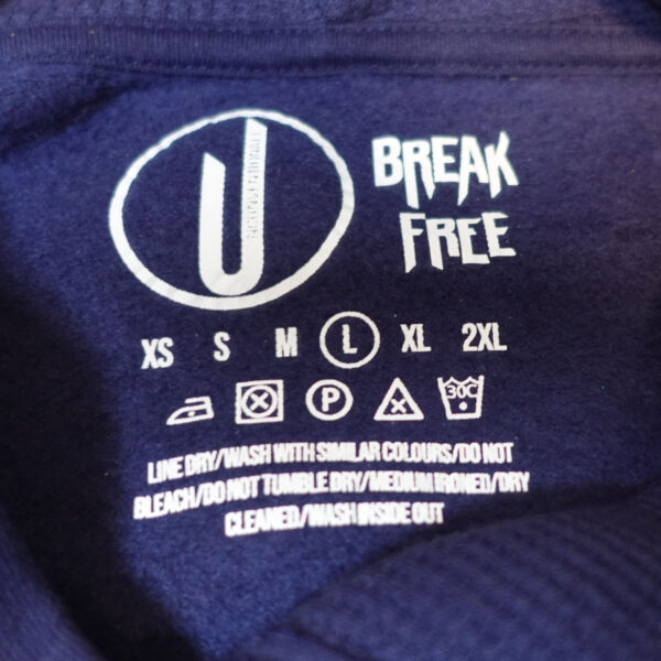 Unconventionall Wash Label Navy