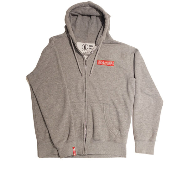 Unconventionall Mens Grey Zoodie