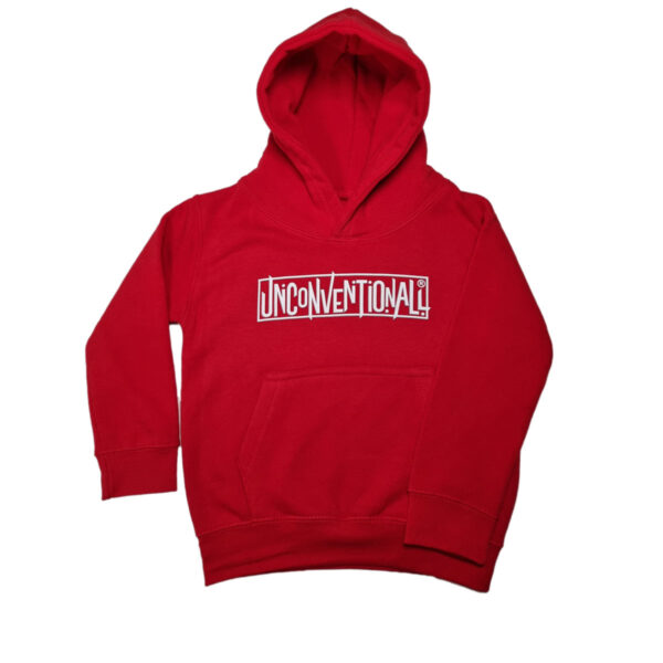 Unconventionall Kids Red Hoodie